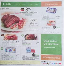 Publix Weekly Ad Preview Aug 14 20