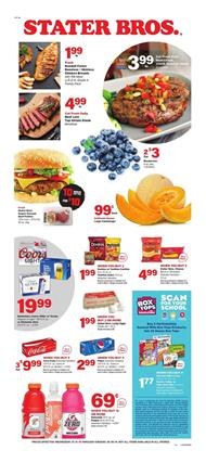 Stater Bros Weekly Ad Deals Jul 31 Aug 6 2019