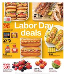 Target Labor Day Deals and Next Weeks Weekly Ad