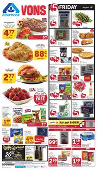 Vons Weekly Ad Deals Aug 14 20 2019