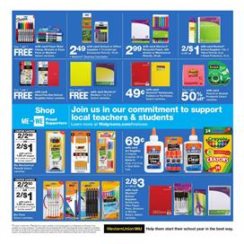 Walgreens Pens Sale Weekly Ad Aug 4 10 2019