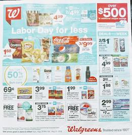 Walgreens Weekly Ad Preview Deals Aug 25 31 2019