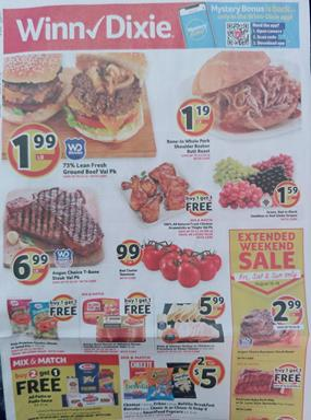 Winn Dixie Weekly Ad Aug 14 20