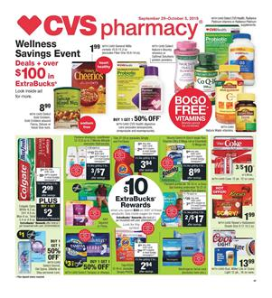 CVS Fall Beauty Savings Weekly Ad Sep 29 Oct 5 2019