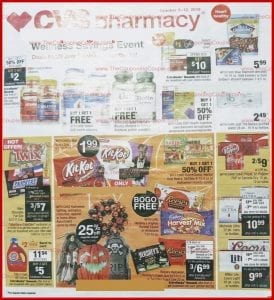 CVS Weekly Ad Preview Oct 6 12 2019