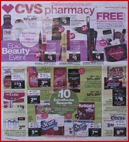 CVS Weekly Ad Preview Sep 15 21 2019