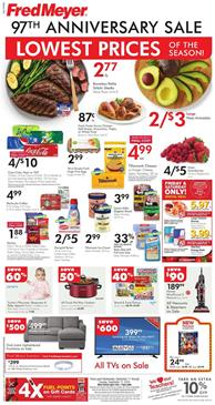 Fred Meyer Ad Deals Sep 11 17 2019