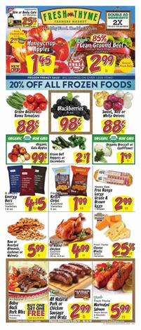 Fresh Thyme Ad Deals Sep 25 Oct 2 2019
