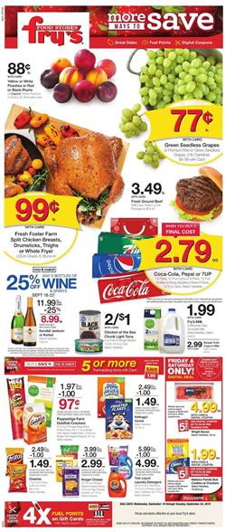 Frys Weekly Ad Deals Sep 18 24 2019