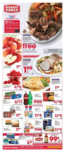Giant Eagle Ad Deals Sep 5 11 2019