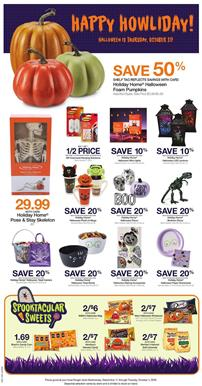 Holiday Home Skeleton 29.99 on Kroger Weekly Ad