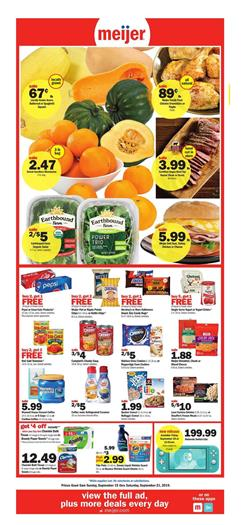 Meijer Tailgate Party Food Weekly Ad Sep 15 21 2019