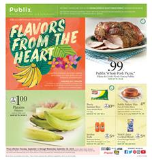 Publix Tailgate Party Weekly Ad Sale Sep 12 18 2019