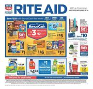 Rite Aid Ad Deals Sep 15 21 2019
