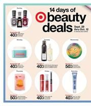 Save 40 off with 14 Days of Beauty Deals at Target