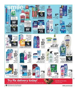 Shop CVS Personal Care Weekly Ad Sep 15 21 2019