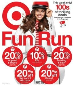 Target Fun Run Deals Weekly Ad Sep 22 28 2019