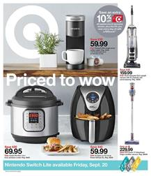 Target Kitchen Appliances Weekly Ad Sep 15 21 2019