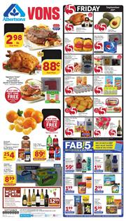 Vons Weekly Ad Deals Sep 18 24 2019