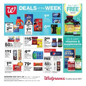 Walgreens Supermarket Products Sep 29 Oct 5 2019