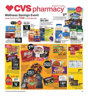 CVS Halloween BOGO Free Oct 6 12 2019