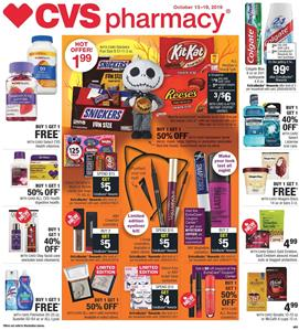 CVS Halloween Makeup and Candies Oct 13 19 2019