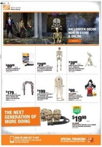 Decorate Your Home With Home Depot Halloween Sale