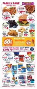 Family Fare Ad Deals Oct 20 26 2019