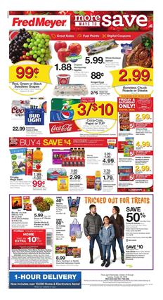 Fred Meyer Ad Deals Oct 23 29 2019