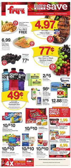 Frys Weekly Ad Deals Oct 30 2019