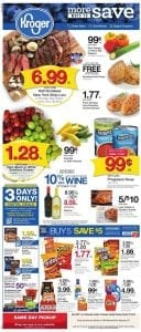 Kroger Buy 5 Save 5 Mix and Match Weekly Ad Products Oct 2019