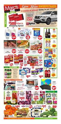 Marcs Weekly Ad Special Buys Oct 2019