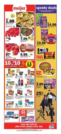 Meijer Offers Mix or Match Oct 27 Nov 2 2019