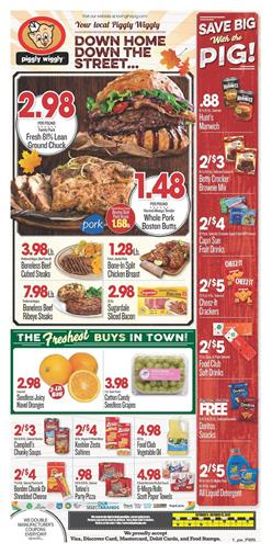 Piggly Wiggly Weekly Ad Deals Oct 9 15 2019