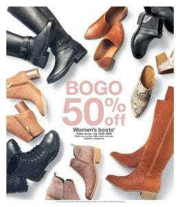 Target BOGO Clothing Deal Weekly Ad Oct 2019