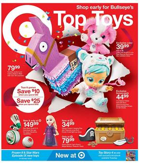 Target Top Toys Weekly Ad Oct 6 12 2019