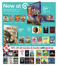 Target Toy Story 4 DVD
