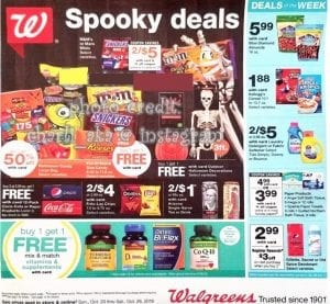 Walgreens Weekly Ad Preview Oct 20 26 2019