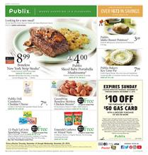 Publix Weekly Ad Thanksgiving Sale Nov 14 20 2019