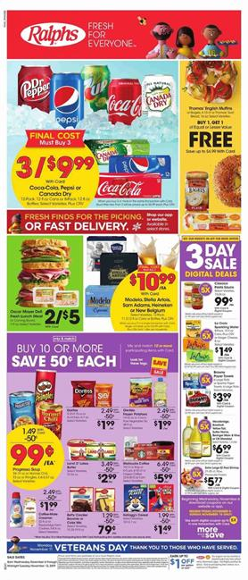 Ralphs Weekly Ad Buy 10 Save 5