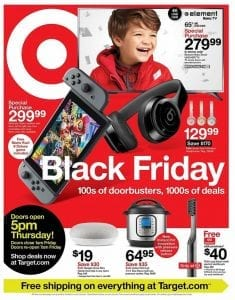 Target Black Friday Ad Doorbuster Deals 2019