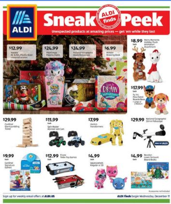 ALDI In-Store Ad Dec 15 - 21, 2019
