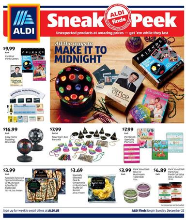 ALDI Weekly Ad Preview Dec 22 28 2019