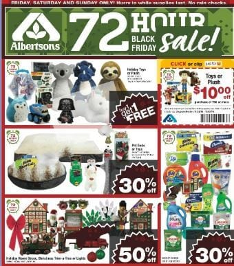 Albertsons Black Friday Sale