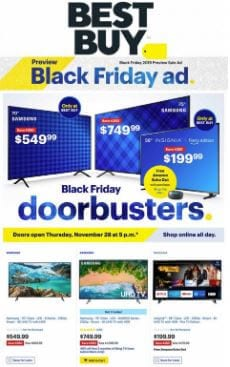 Best Buy Black Friday Ad 2019 TVs