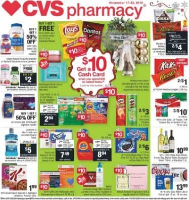 CVS Ad Preview Nov 17 23 2019