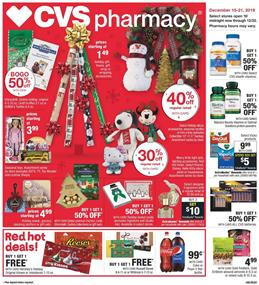 CVS Holiday Gifts Dec 15 21 2019 Weekly Ad