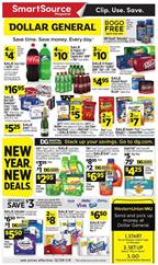 Dollar General Ad Digital Coupons Dec 29 - Jan 4