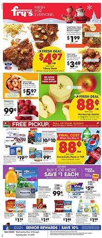 Fry's Weekly Ad Dec 4 - 10 Deals