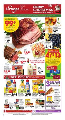 Kroger Christmas Deals Dec 18 24 2019 Weekly Ad